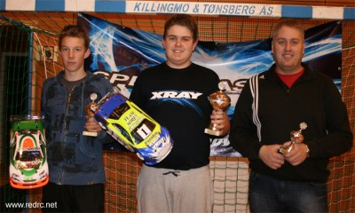 Adrian Berntsen dominates Norwegian Winter Series Rd3