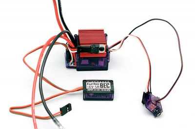 RC4wd Outcry brushed speed controllers