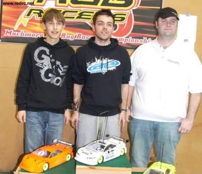 Jefferies, Copsey & Randall win at Rug Racers Rd3