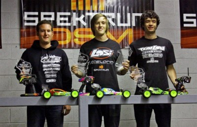 Evans wins big at Spektrum Off-Road Champs