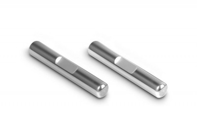 Xray ECS drive shaft polished chrome pins