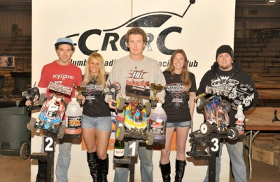 Jesse Robbers does double at CRCRC MWNC