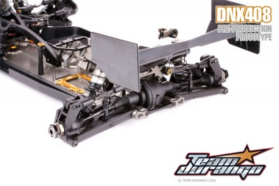 Durango shows of the DNX408's rear end