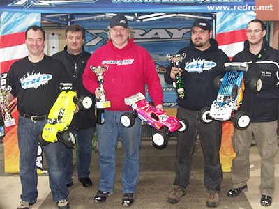 Michael Selner wins Truggy at IWS Rd1