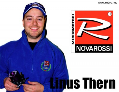 Linus Thern joins Novarossi Factory team