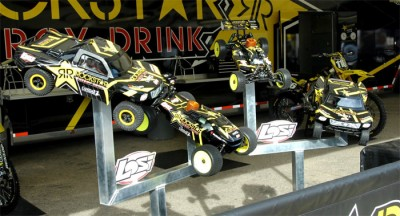Losi partner with Rockstar/Suzuki/Canidae AMA team
