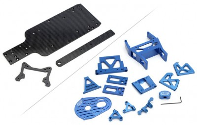 Losi Slider RTR Graphite & Aluminium packages