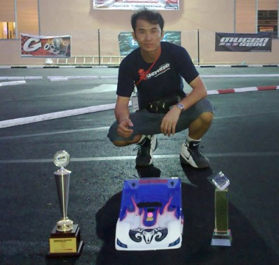 Niko Cheng wins at Excellent Speedway