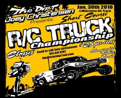 Short Course RC Truck Champs - Announcement