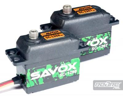 Savox SC1267 & SC1268 servos