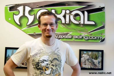 Scott Hughes appointed Global sales manager at Axial Racing
