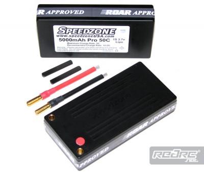 Speedzone 5000mAH Pro 50C 1S Lipo