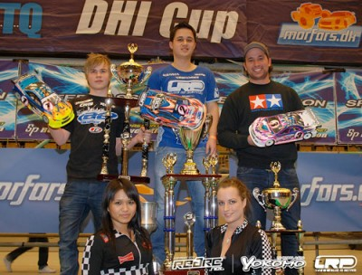 Volker wins 10th Anniversary DHI Cup