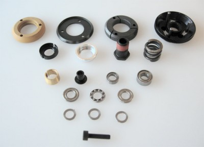 Xceed RC 1/10th XS clutch system