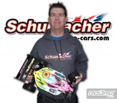 Graham Alsop to run Schumacher tires
