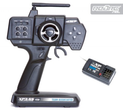 Associated P3-SS 2.4GHz 3CH radio control system