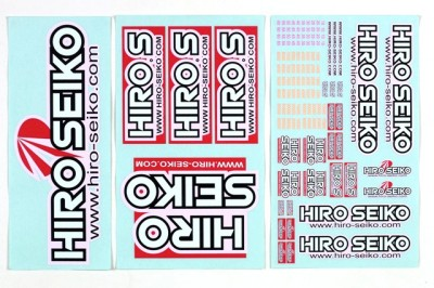 Hiro Seiko decal sheets