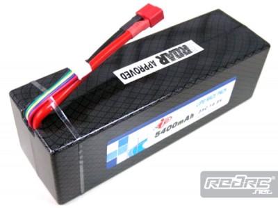 IB 5400mAh 35C LiPo pack