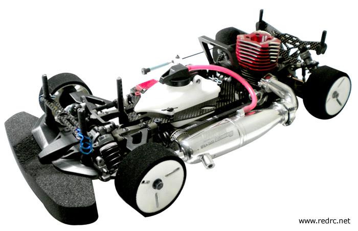 Km Racing H K1 200mm Touring Car Red Rc