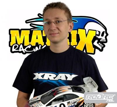 Matrix tires sign Martin Hudy