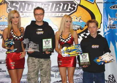 Hupo Honigl doubles up at Snowbirds