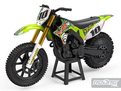 Venom VMX450 1/4th scale dirt bike