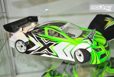Xceed 1/10th 200mm touring car shell