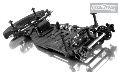 Xray X10 Link Pan Car Chassis Red Rc