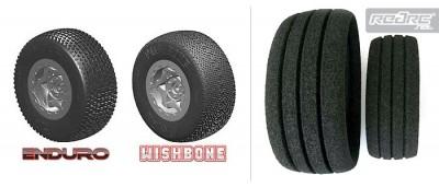Aka enduro amp wishbone sc tires amp grooved inserts