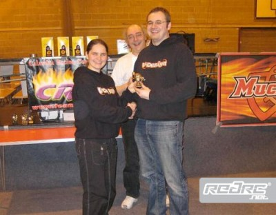 Chris Kerswell does British National double