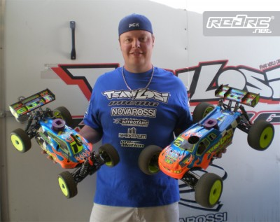 Losi Racing Winter series Rd1 double for Drake