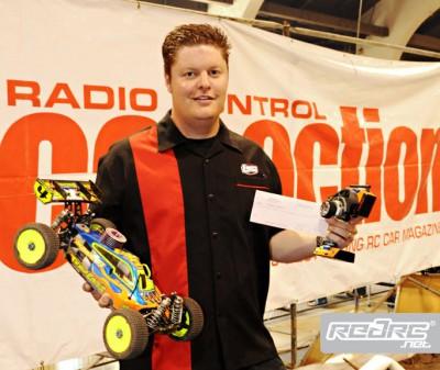 Adam Drake wins buggy at RCX Supercross