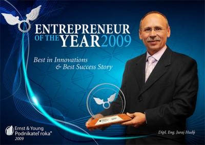 Juraj Hudy selected as Entrepreneur of the Year