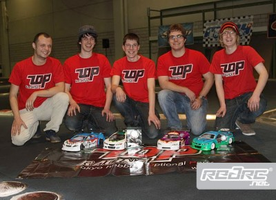 T.O.P. Racing report on Swiss Nats Rd1