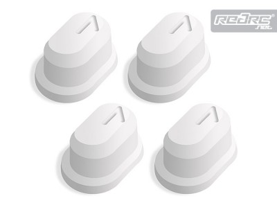 Associated RC8 half-degree toe bushings