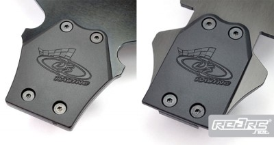 DE Racing XD skid plates for Short Course