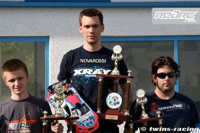 Dirk Wischnewski wins French 1/10th EFRA GP