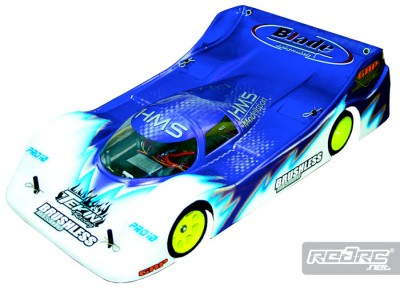 HMS Group C P-Type Pro 10 body shell
