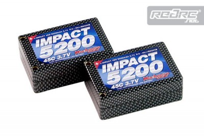 Much More Impact 45C 5200mAh saddle pack