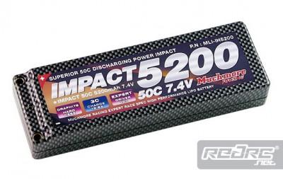 Much More Impact 5200mAh 50C LiPo