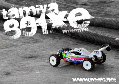 Tamiya 801Xe prototype makes race debut