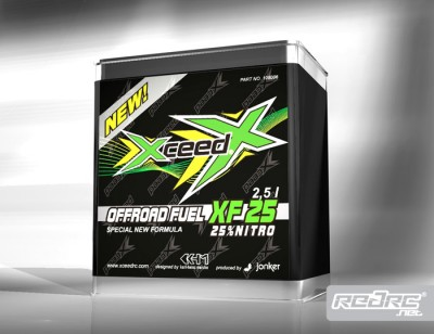 Xceed RC 25% off road fuel blend