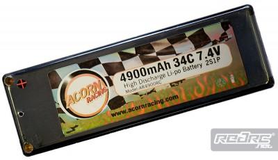 Acorn Racing 4900mAh 34C Race LiPo