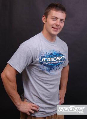 JConcepts Racing bag, T-shirt and Decal sheet