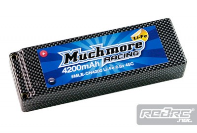 Much More 4200mAh 45C LiFe pack