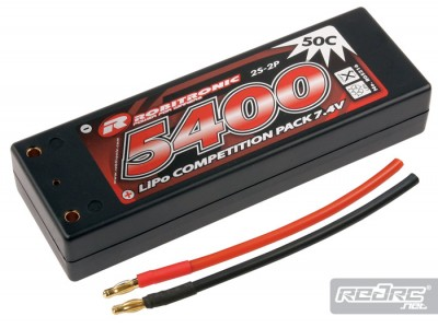 Robitronic Competition LiPos & NiMh sport packs