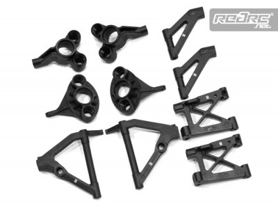 Serpent M hardness suspension parts