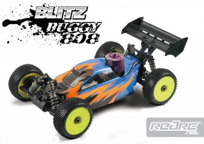 Team Titan Blitz Buggy808 body