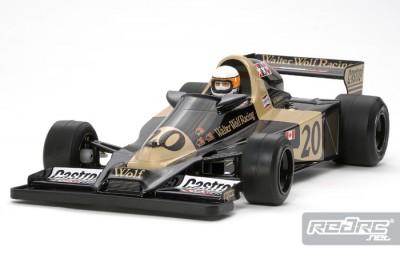 Tamiya Wolf WR1 F1 chassis