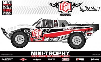 HPI Mini Trophy 4wd Desert truck